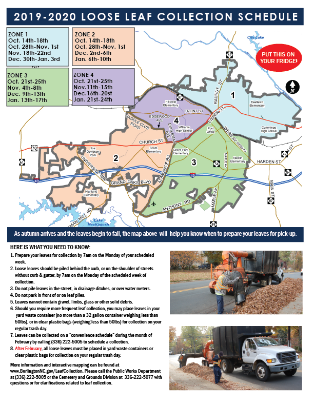City of Burlington Leaf Collection Schedule 2019_rev-01